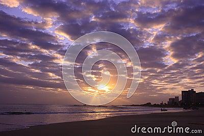Sunrise at pollock beack