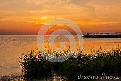Sunrise Raritan Bay