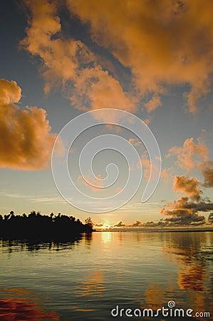 Sunrise at Rarotonga 1