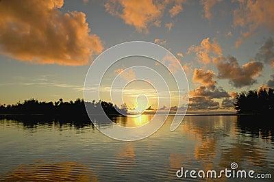 Sunrise at Rarotonga 2