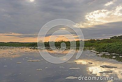 Sunrise on Remote River
