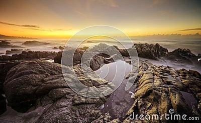 Sunrise rocks, South Africa