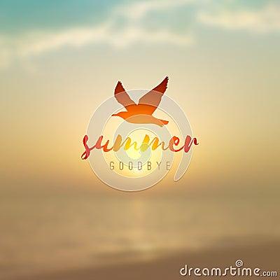 Free Sunrise Seascape And Seagull Stock Photo - 99150480
