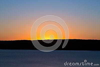 Sunrise Sky Over South Bay