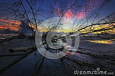 Sunrise Sri Tujuh Beach