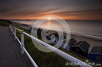 Sunrise in Suffolk