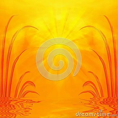 Free Sunrise, Sunset On Water Royalty Free Stock Photos - 4579028
