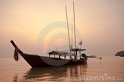 Sunrise At Surin Island,southern Of Thailand Stock Image - Image: 23619761