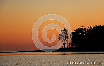 Sunrise Tumbo Island
