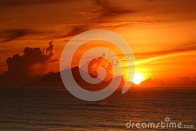Sunrise of  Turtle Island