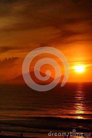 Sunrise of  Turtle Island