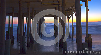 Sunrise Under the Pier