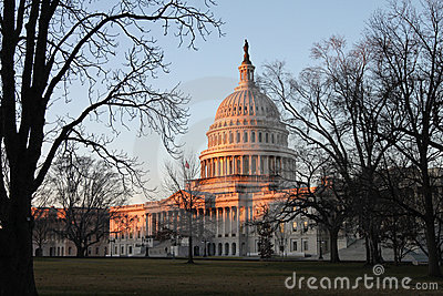 Sunrise US Capitol East Lawn Washington DC