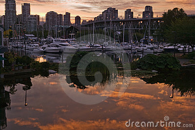 Sunrise in Vancouver