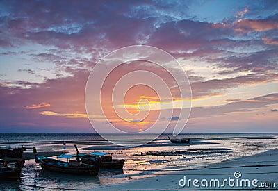 Sunrise view of PhiPhi island