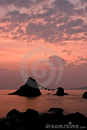 Sunrise upon Wedded Rocks