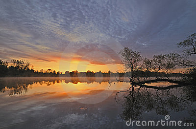 Sunrise Whitford Lake