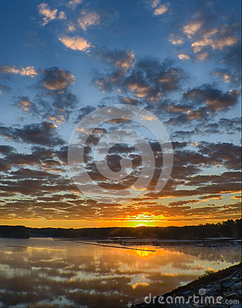Free Sunrise With Clearing Storm Clouds Royalty Free Stock Photos - 60389788