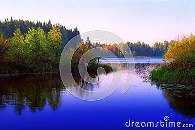 Sunrize lake
