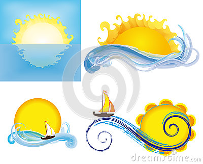 Suns and seas