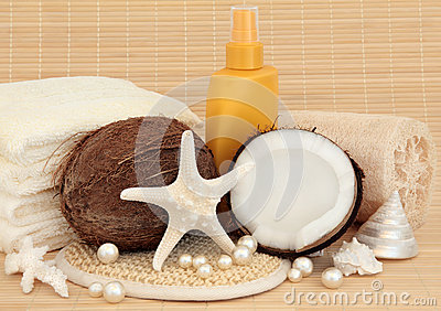 Sunscreen and Spa Accessories