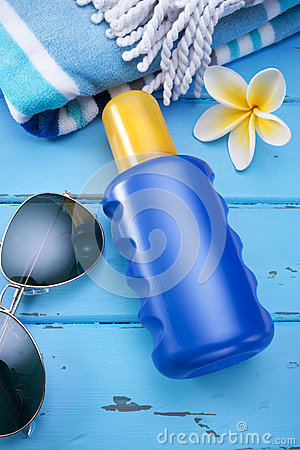 Bottle Sunscreen Sunblock Sun Lotion