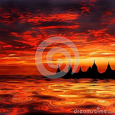 Free Sunset Stock Photography - 2775462