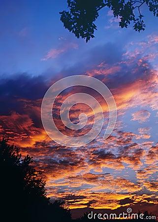 Sunset A 3-07