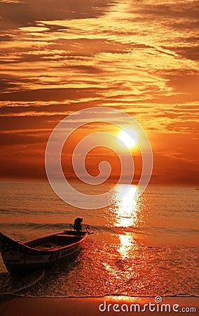Free Sunset Royalty Free Stock Image - 8092676