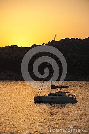 Sunset on Baia Santa Reparata