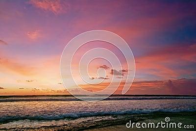 Sunset of Bali