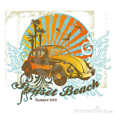 Free Sunset Beach Stock Photos - 8985243