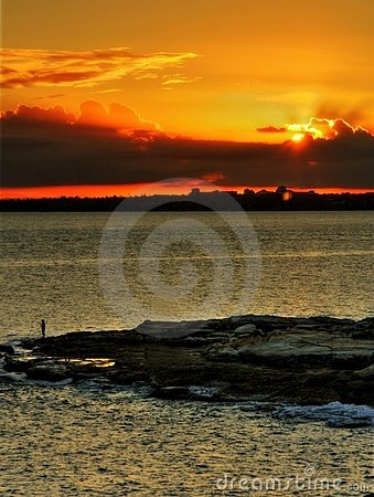 Sunset at Botany Bay Sydney