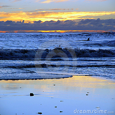 Sunset at CA beach