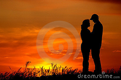 Sunset couples
