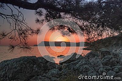 Sunset in Crimea