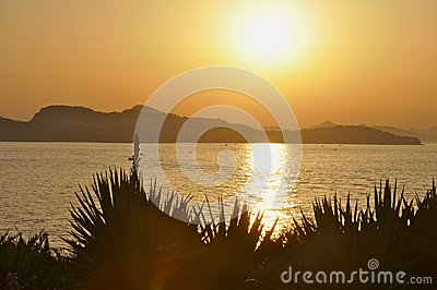 Sunset in Crotia