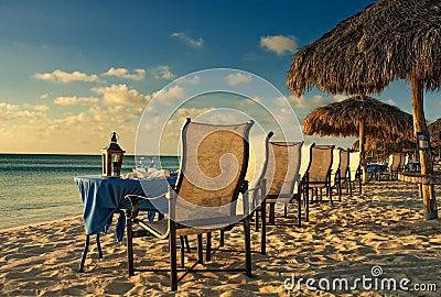Sunset Dinner in Aruba