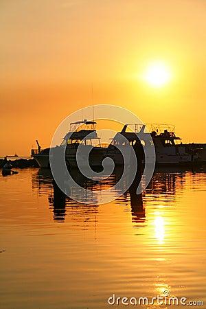 Free Sunset Dock Stock Photos - 2015013