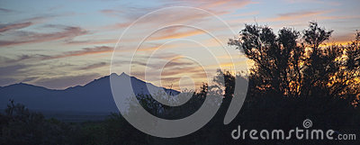 Sunset From Eden Stock Image - Image: 26289901