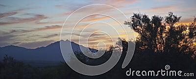 Sunset from Eden