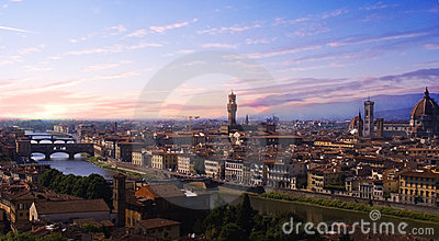 Sunset Florence