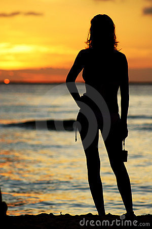 Sunset Girl