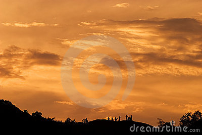 Sunset Glow Royalty Free Stock Image - Image: 11496986