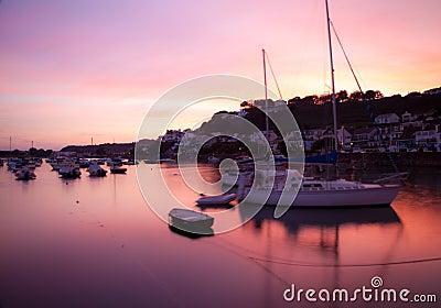 Sunset at Gorey, Jersey