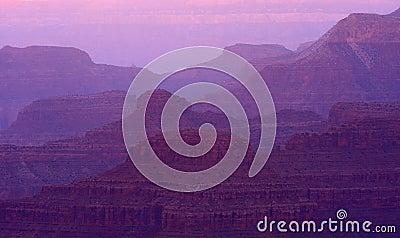 Sunset Grand Canyon Layers
