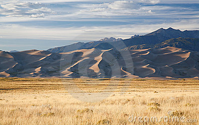 Sunset On Great Sand Dunes National Park
