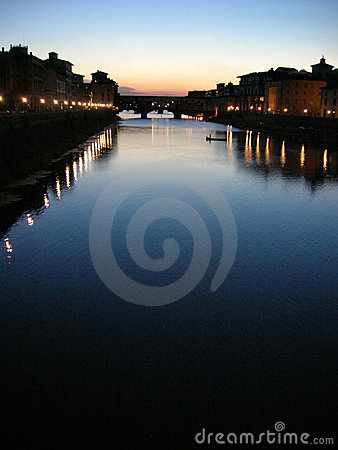 Free Sunset In Florence Royalty Free Stock Photography - 1228627