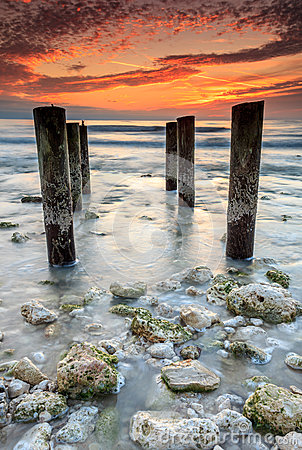 Free Sunset In Florida Royalty Free Stock Photography - 30998857
