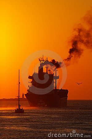 Free Sunset In The Harbor Stock Image - 1279331